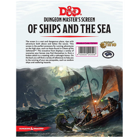 Of Ships And Of Sea DM Screen