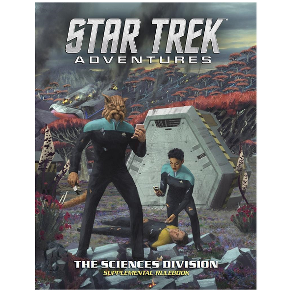 Science Division  Star Trek Adventures Supplementary Rulebook
