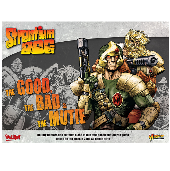 The Good the Bad and the Mutie starter game Strontium Dog