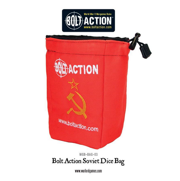 Bolt Action Soviet Red Dice Bag