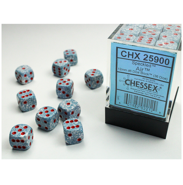 Speckled D6 Set of 36 Air