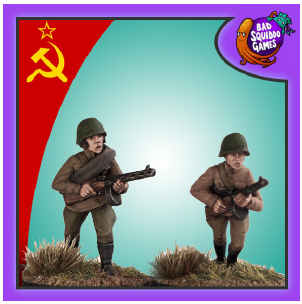 Soviet Infantry with SMG (2)