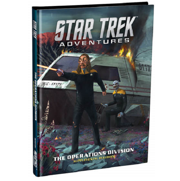 Operations Division  Star Trek Adventures Supplementary Rulebook