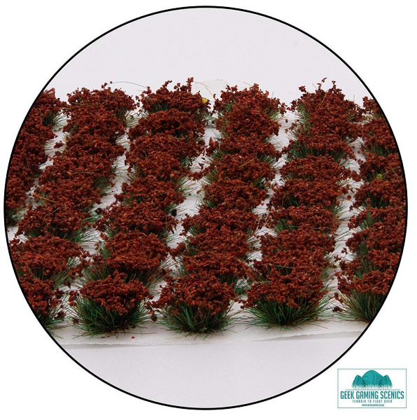 6mm Poppy/Rose Static Grass Tufts