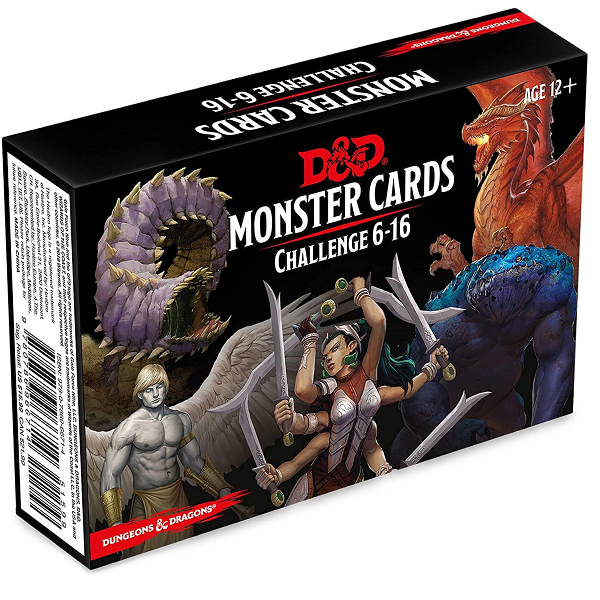 Monster cards 6-16 challenge