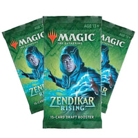 Zendikar Rising Draft Booster Offer 3 for £10