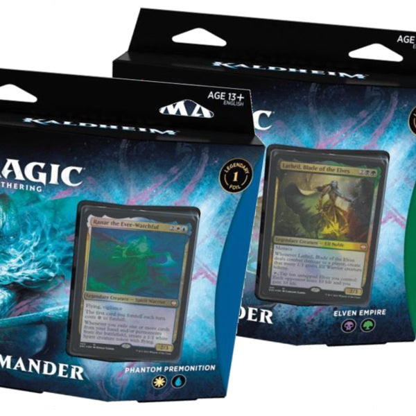 Kaldheim Commander Deck - Bundle