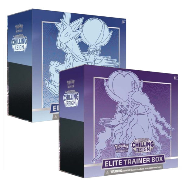Sword & Shield 6 Chilling Reign Elite Trainer Box (ONE PER CUSTOMER)