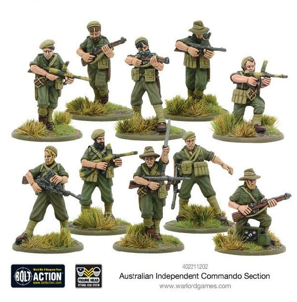 Australian Independent Commando Section - Grim Dice Tabletop Gaming