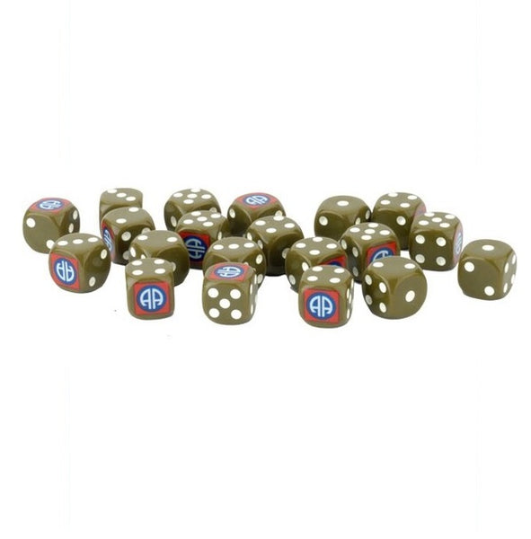 82nd Airborne Division Dice (x20)