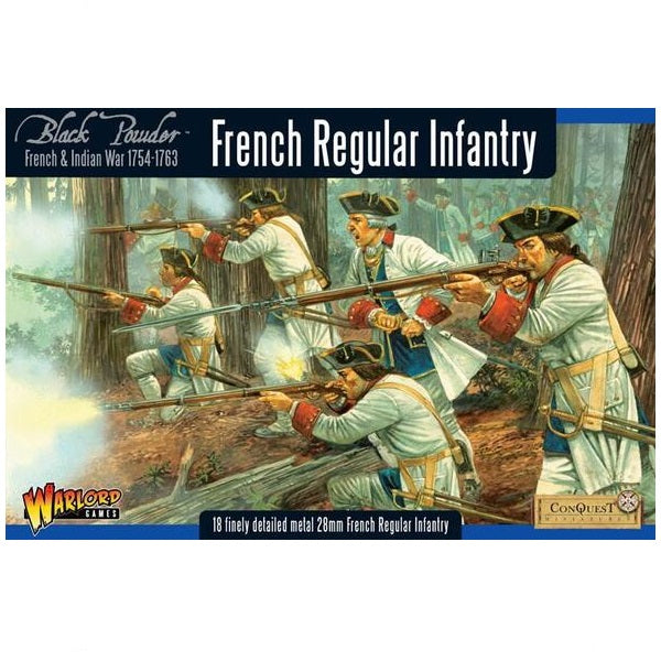 French Regular Infantry, French Indian War
