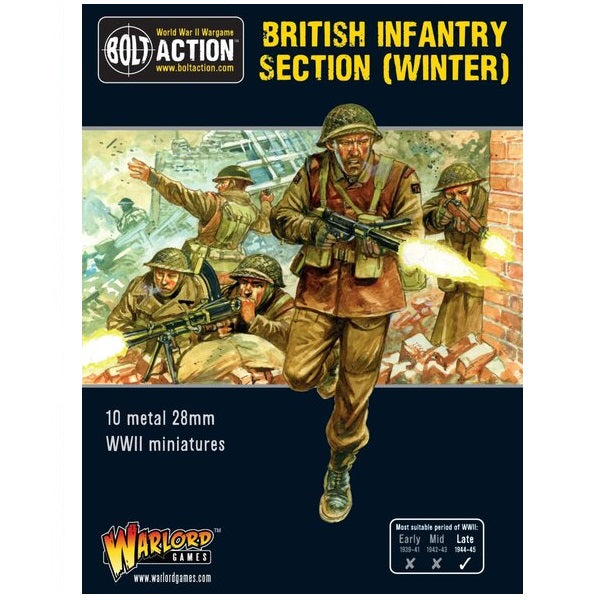 British Infantry Section Winter