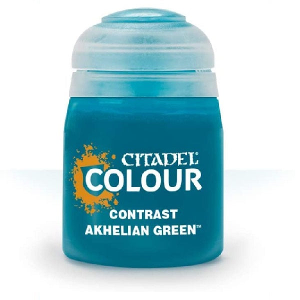 Akhelian Green Contrast 18ml - Grim Dice Tabletop Gaming