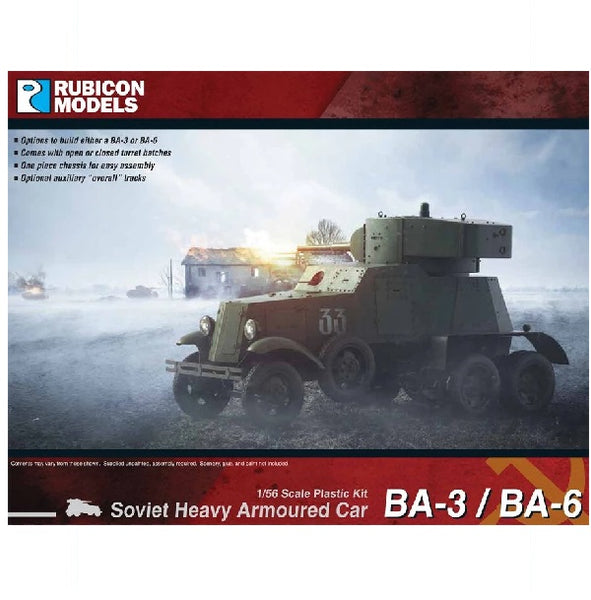 BA-3 / BA-6  Soviet Heavy Armoured Car - Grim Dice Tabletop Gaming