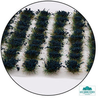 6mm Cornflower Blue Static Grass Tufts