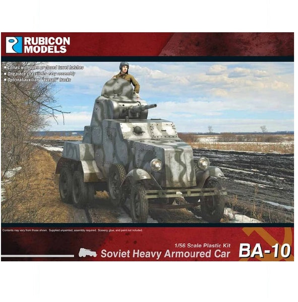 BA-10 Heavy Armoured Car - Grim Dice Tabletop Gaming