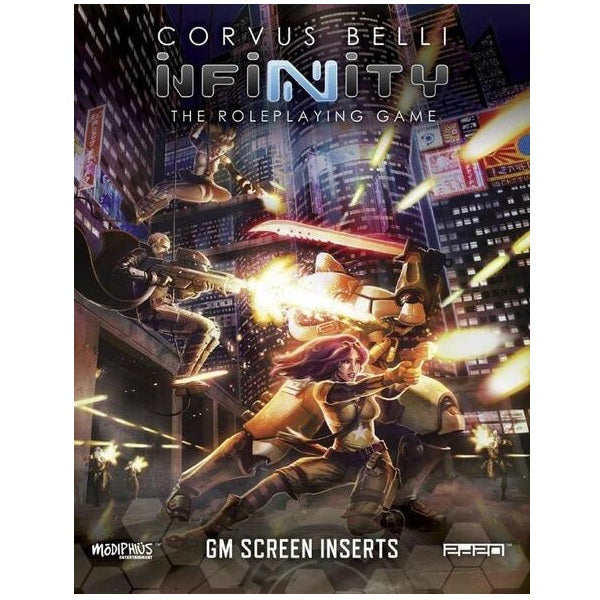 GM Screen Infinity The Roleplaying Game