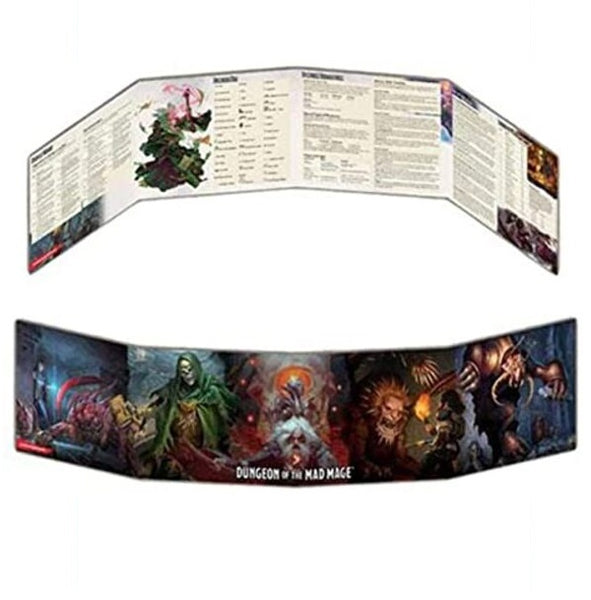 Dungeon of the Mad Mage DM Screen