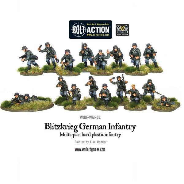 Blitzkrieg German Infantry