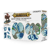 60mm & 90mm Oval Bases, Shattered Dominions - Grim Dice Tabletop Gaming