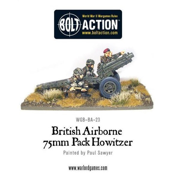 British Airborne 75mm Pack Howitzer