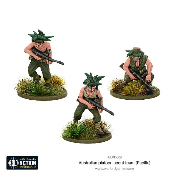 Australian Platoon Scout Team (Pacific) - Grim Dice Tabletop Gaming