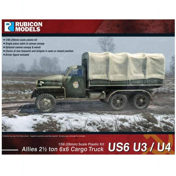 Allies US6 U3/U4 2½ ton 6x6 Truck - Grim Dice Tabletop Gaming