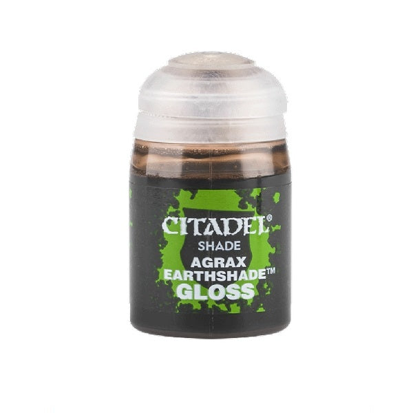 Agrax Earthshade Gloss Shade 24ml - Grim Dice Tabletop Gaming
