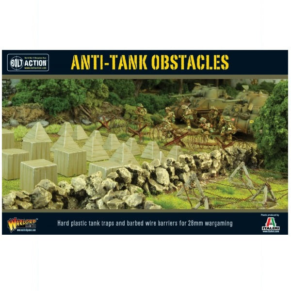 Anti-Tank Obstacles - Grim Dice Tabletop Gaming