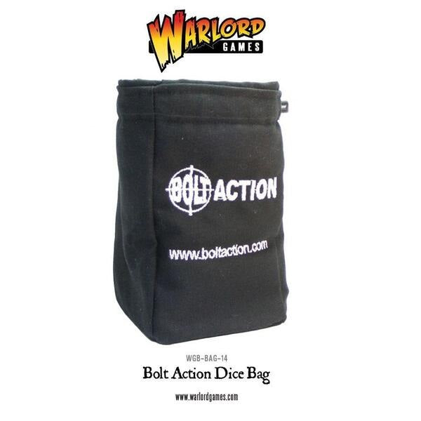 Bolt Action Black Dice Bag