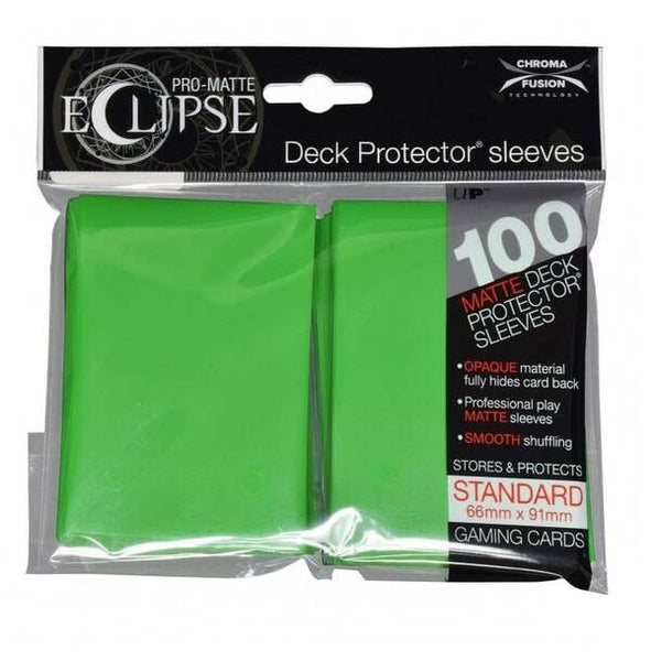 Eclipse Lime Green 100 Card Sleeve