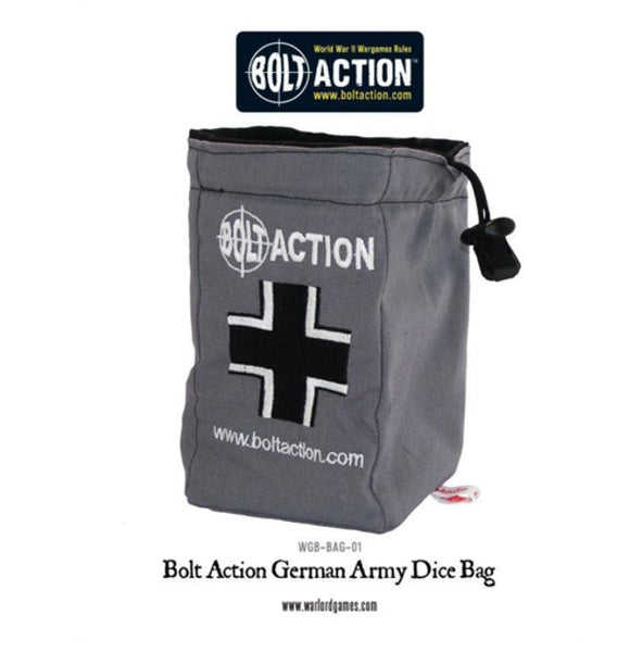 Bolt Action German Grey Dice Bag