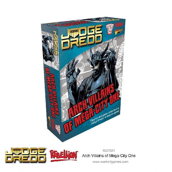Arch Villains of Mega City 1 - Grim Dice Tabletop Gaming