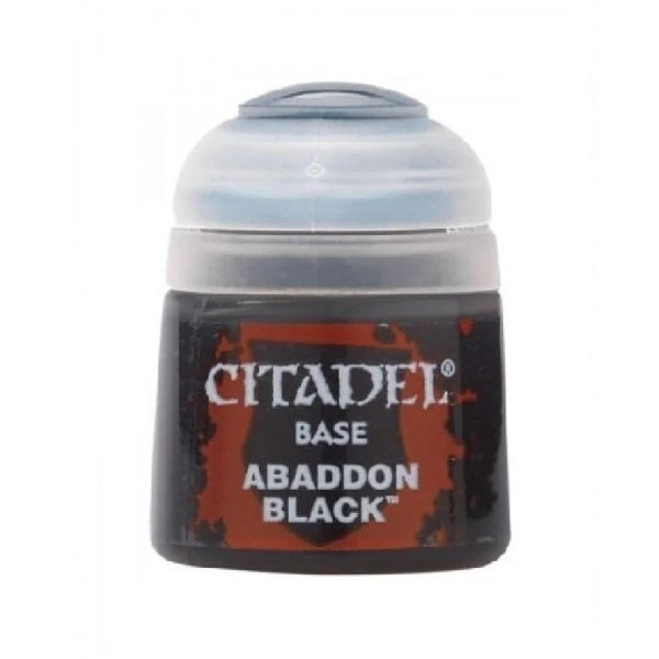 Abaddon Black Base 12ml - Grim Dice Tabletop Gaming