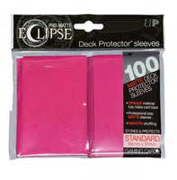 Eclipse Hot Pink 100 Card Sleeve