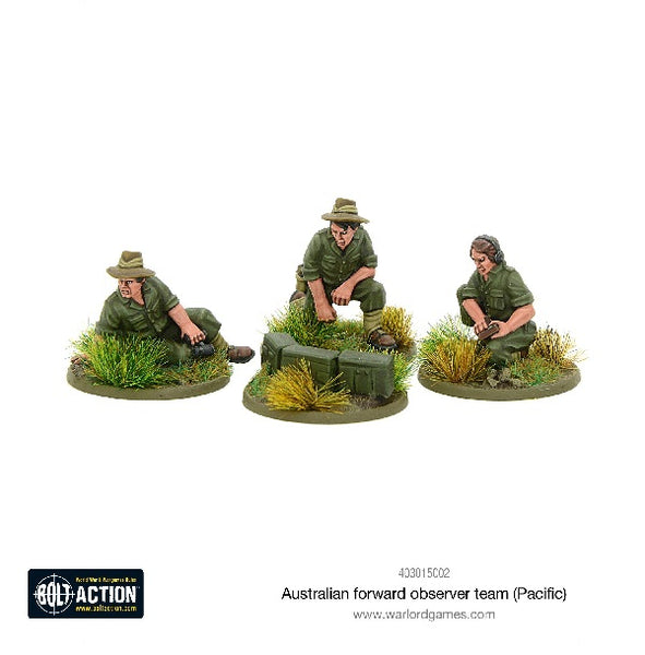 Australian Forward Observer Team (Pacific) - Grim Dice Tabletop Gaming
