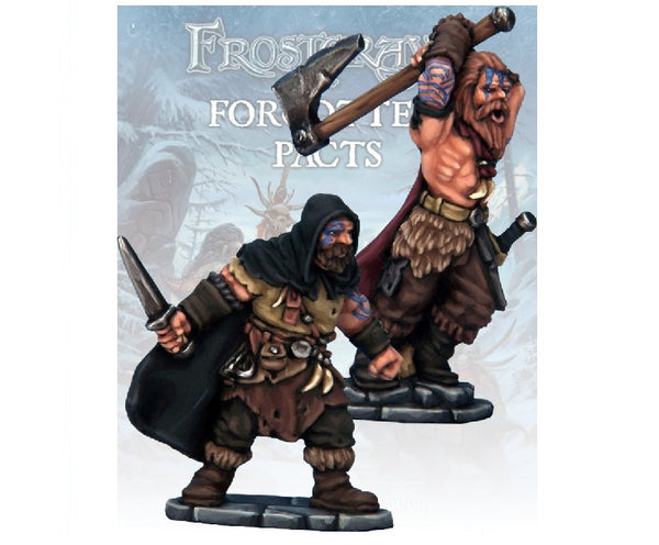 Barbarian Thief and Berserker - Grim Dice Tabletop Gaming