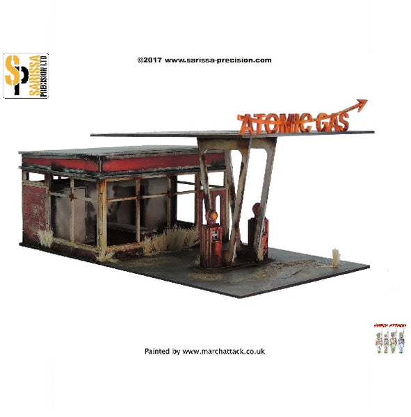 Atomic Gas Station - Grim Dice Tabletop Gaming