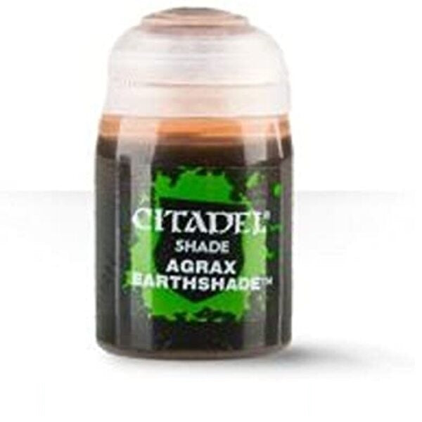 Agrax Earthshade Shade 24ml - Grim Dice Tabletop Gaming