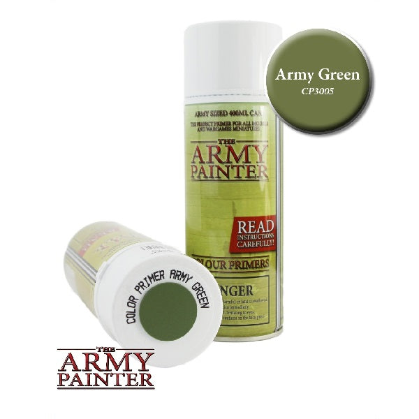Army Green Primer - Grim Dice Tabletop Gaming