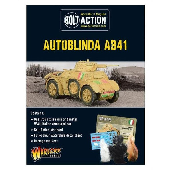 Autoblinda AB41 - Grim Dice Tabletop Gaming