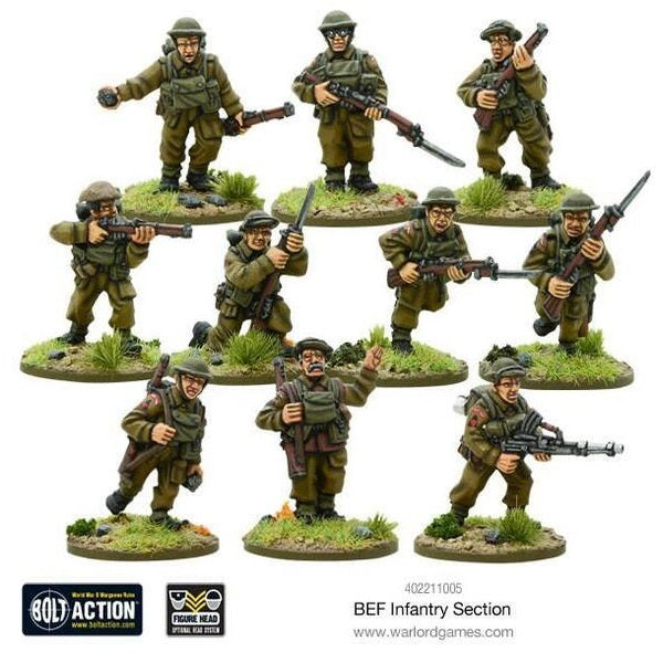 BEF Infantry Section
