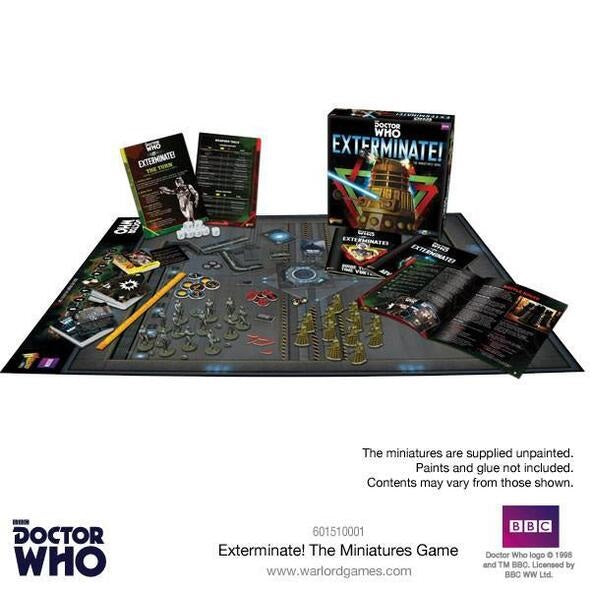 Doctor Who Exterminate In to the Time Vortex Game