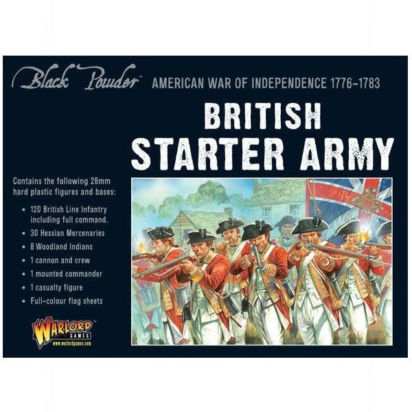 American War of Independence British Army Starter Set - Grim Dice Tabletop Gaming