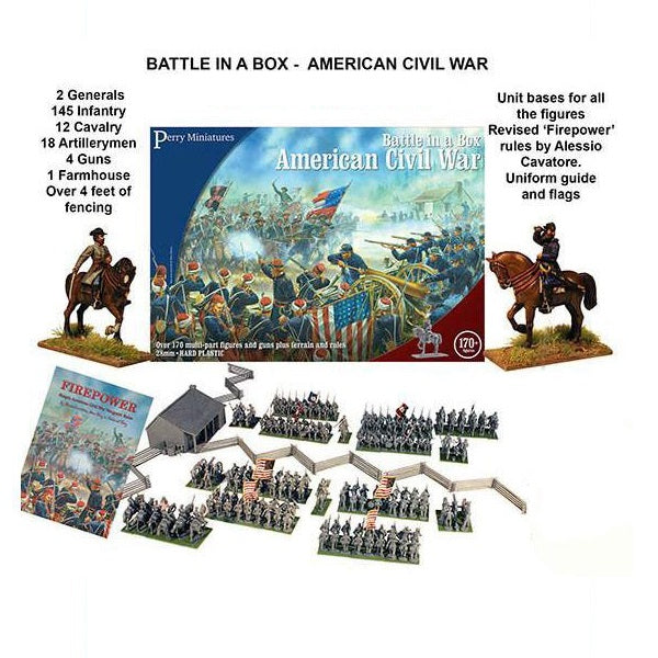 American Civil War Battle Set - Grim Dice Tabletop Gaming