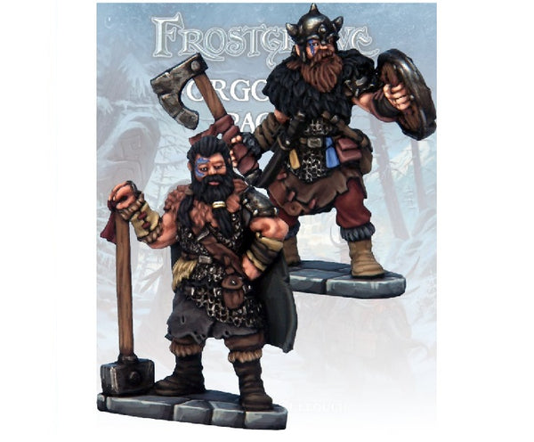Barbarian Knight & Templar - Grim Dice Tabletop Gaming