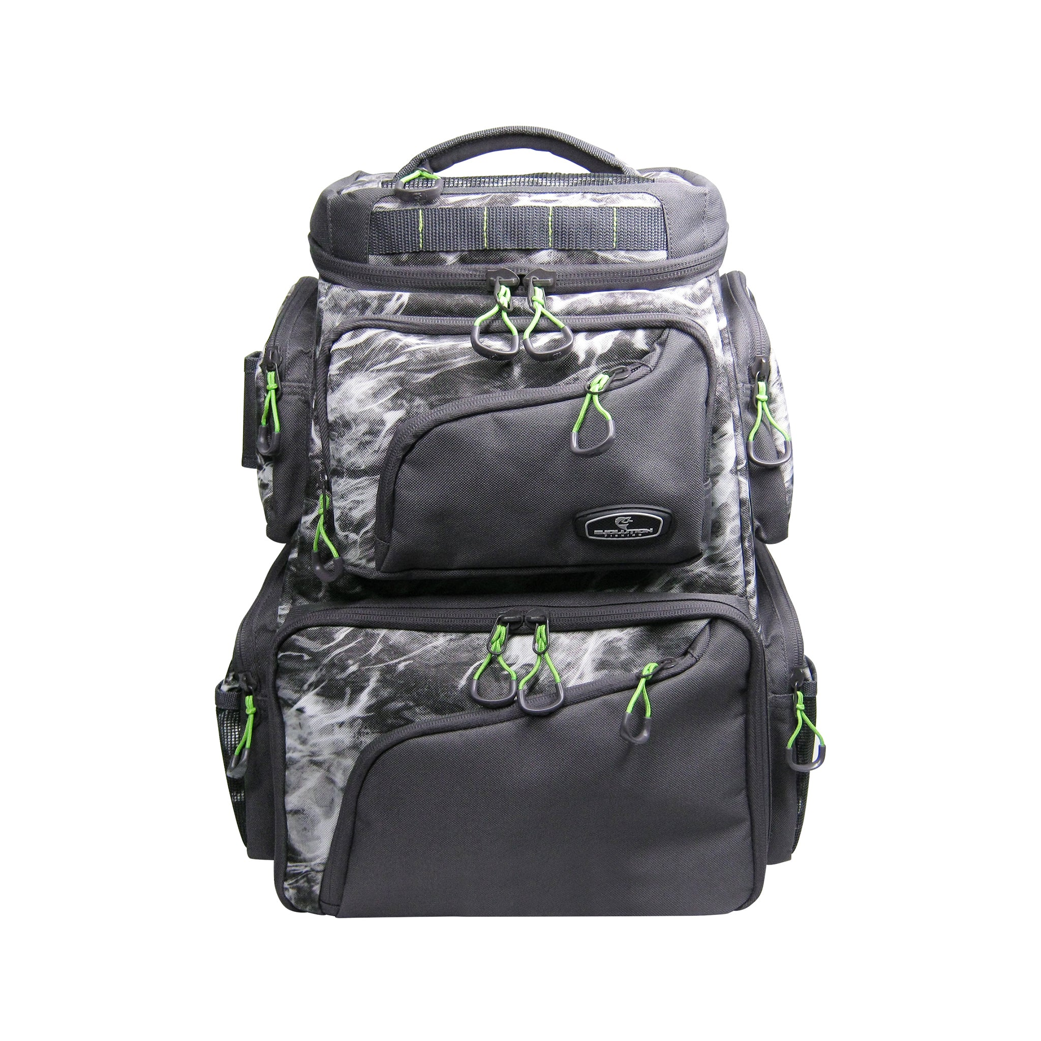 Large Mouth Double Decker Mossy Oak Tackle Backpack