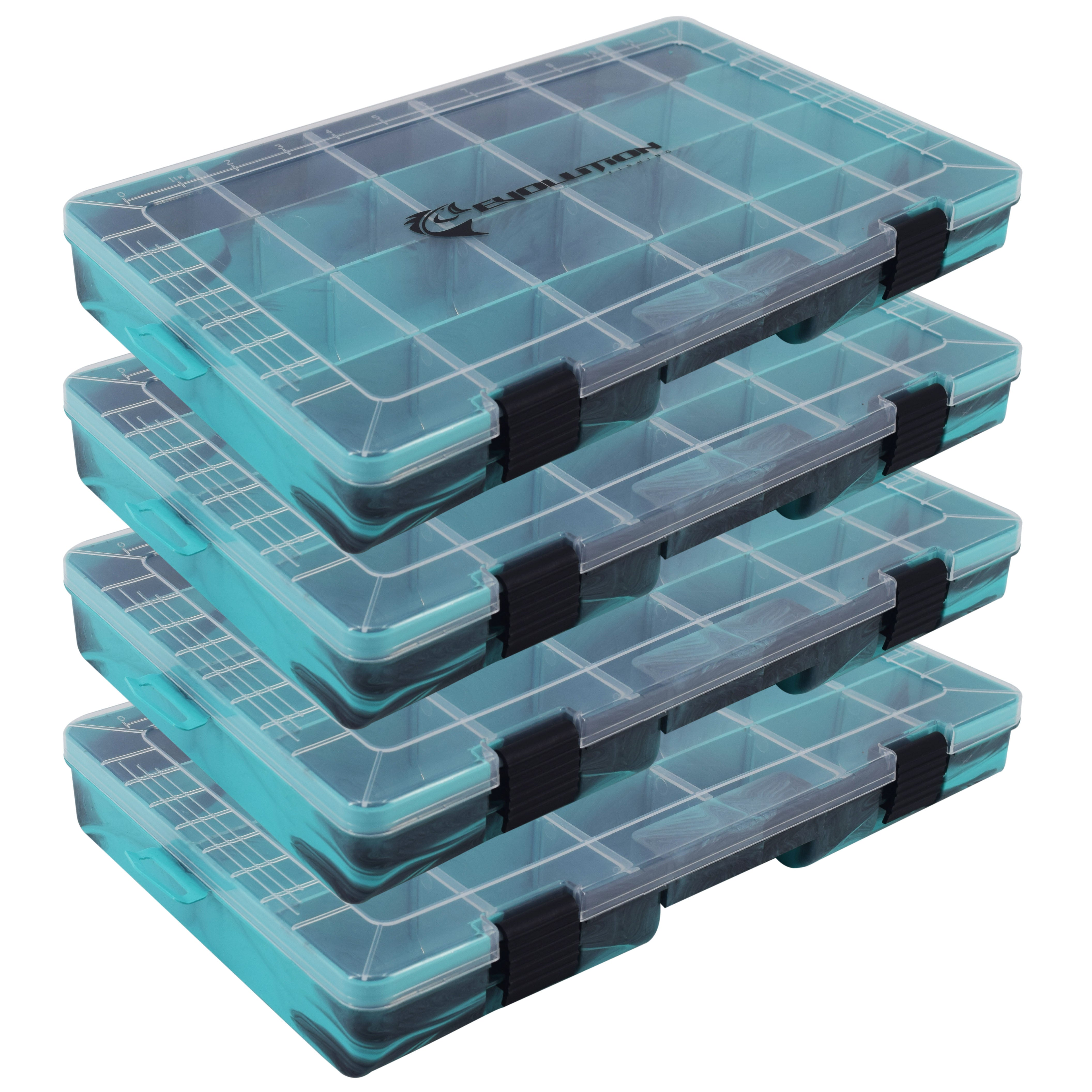 Drift Series 3700 Colored Tackle Tray (4 Pack) - Multiple Colors Available