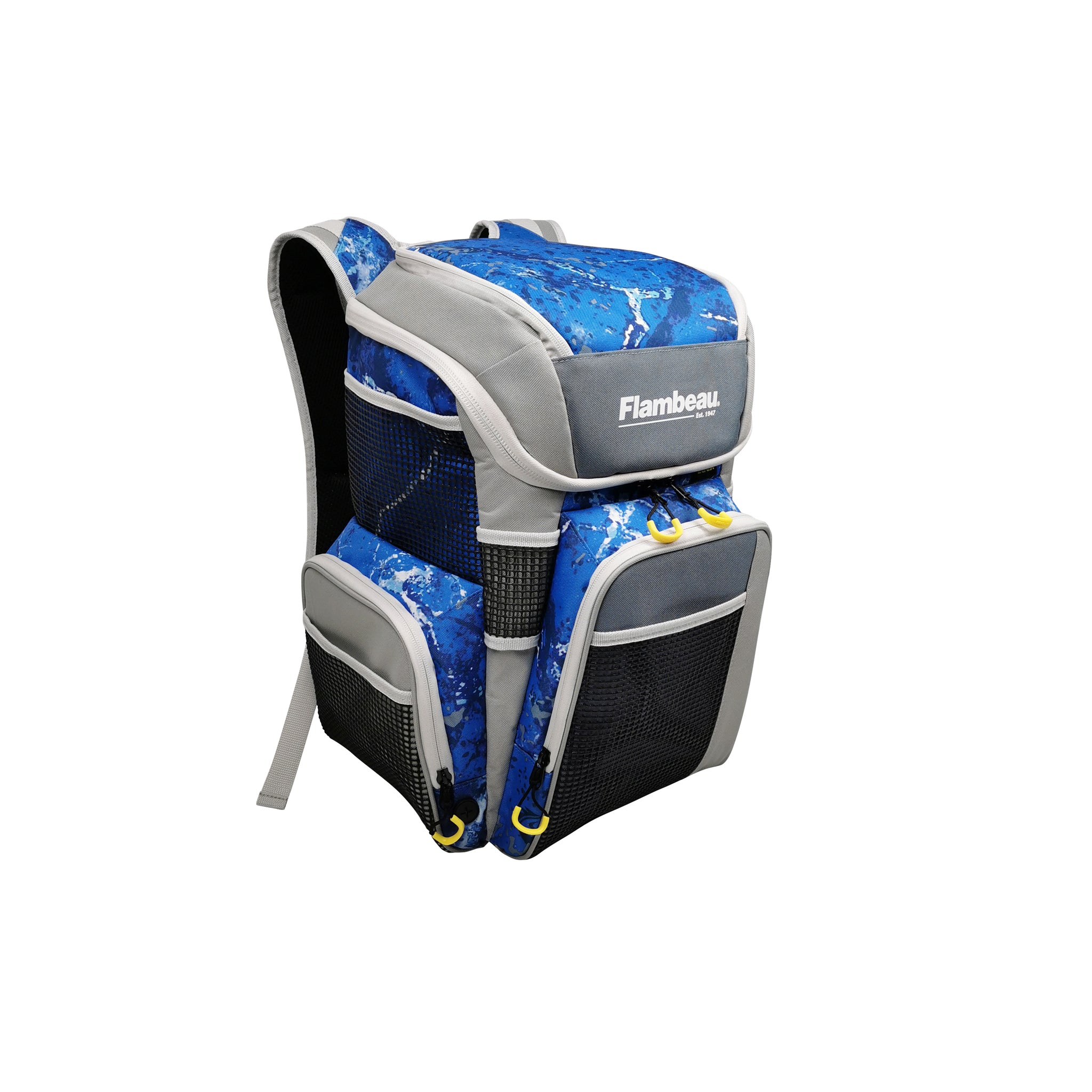 5007 Flambeau Pro-Angler Backpack (Kinetic Blue)