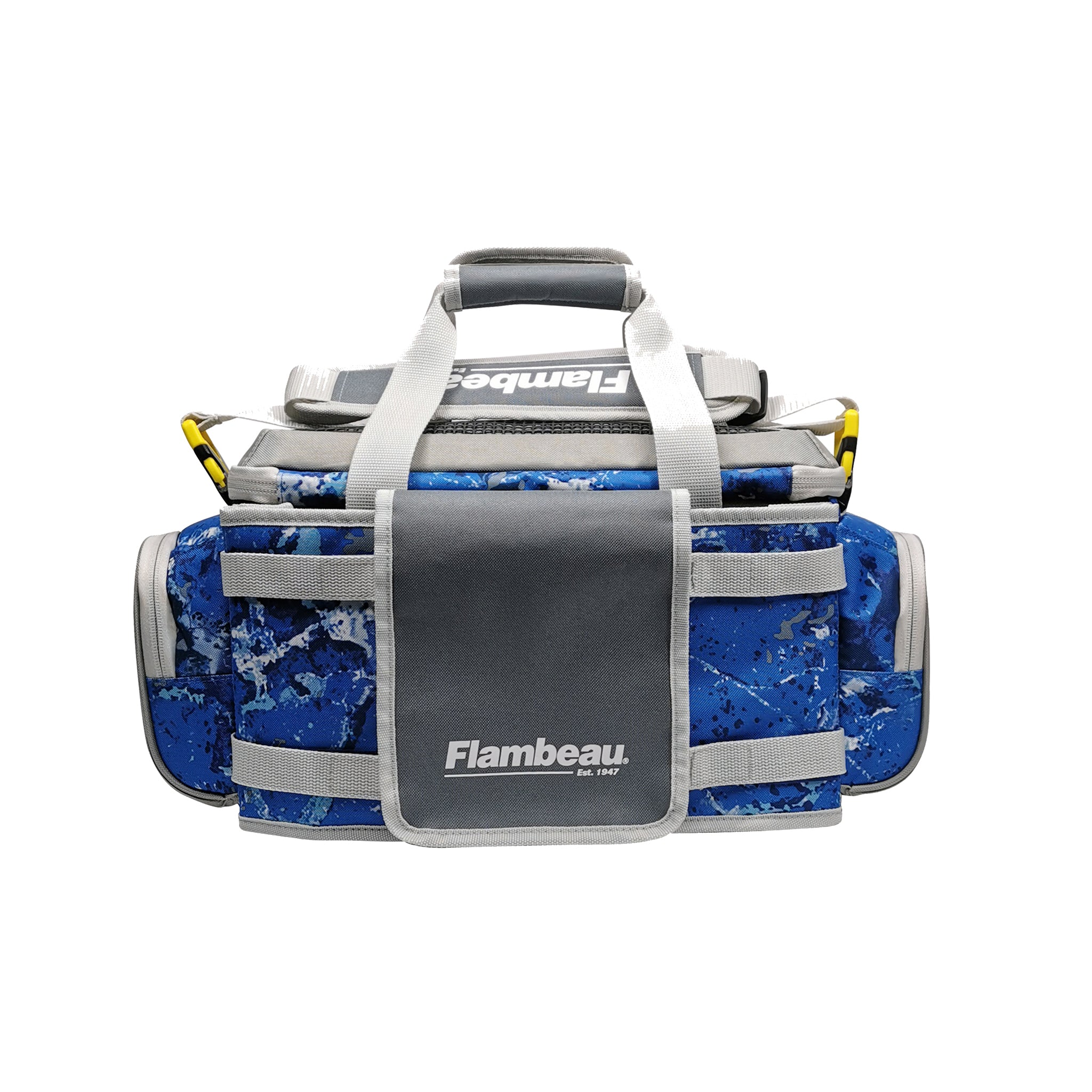 5007 Flambeau Pro-Angler Tackle Bag (Kinetic Blue)